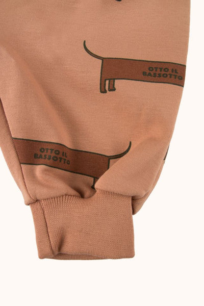 "TINYCOTTONS ""IL BASSOTTO"" SWEATPANT BABY"