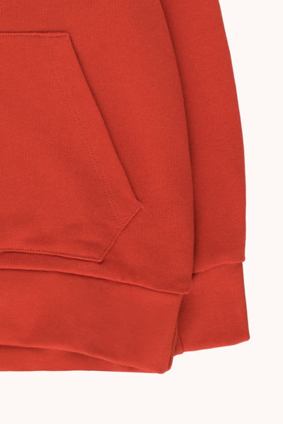 "TINYCOTTONS ""TINY"" SWEATSHIRT RED"