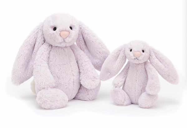 Jellycat Bashful Lavender Bunny Medium