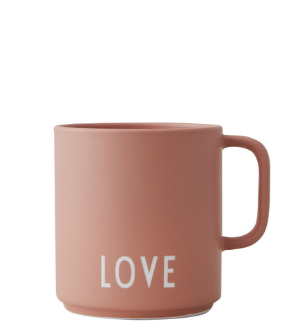 Design Letters  Favourite Cup with Handle nude