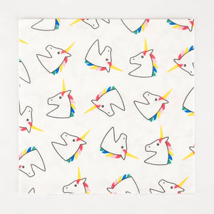 My Little Day paper napkins - unicorn