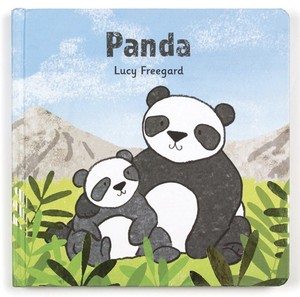 Jellycat Panda Book (Bashful Panda Cub Book)