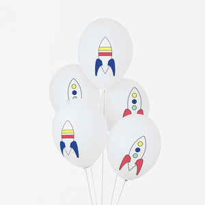 My Little Day tattooed balloons - cosmic