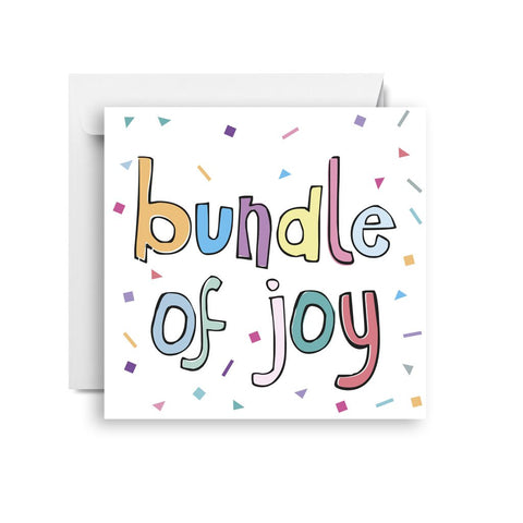 Sprout and Sparrow Bundle of joy (small) CARD