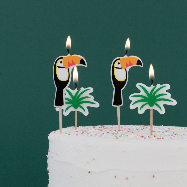 My Little Day candles - toucan
