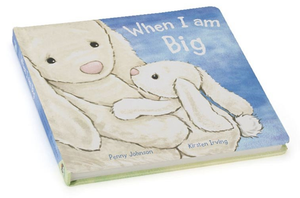 Jellycat When I Am Big (Bashful Bunny Book)