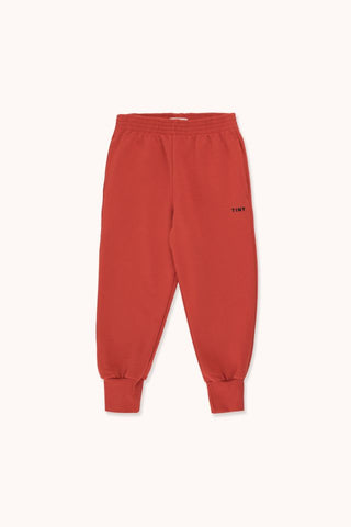 "TINYCOTTONS ""TINY"" SWEATPANT *burgundy/navy*"