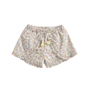 LOUISE MISHA Shorts Asha Cream Petals BABY AND KIDS