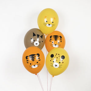 My Little Day tattooed balloons - mini-felines