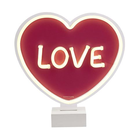 SUNNYLIFE NEON LED LIGHT | HEART
