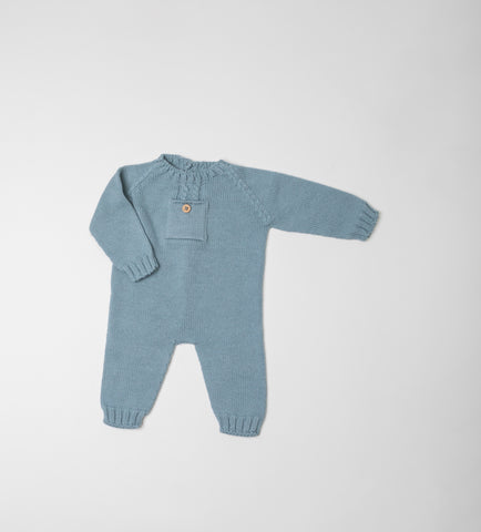 Fina Ejerique ORGANIC COTTON AND MERINO WOOL ROMPERS O20C91H02