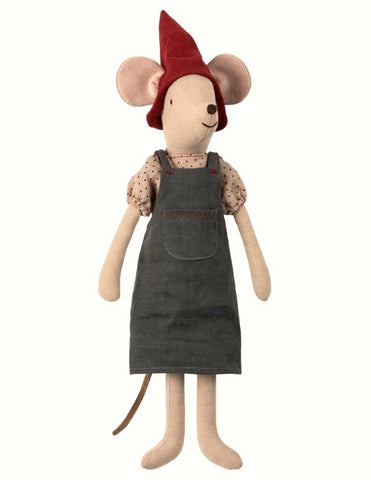 MAILEG  Christmas Mouse Girl medium