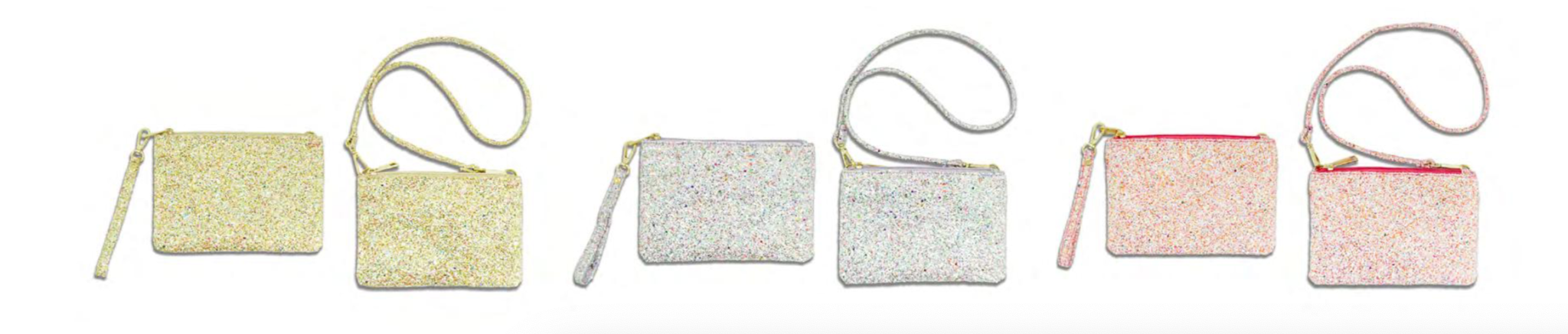 Milk x Soda AUDREY GLITTER BAG