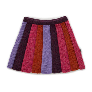 OEUF NYC  Striped Skirt Lilac / Stripes