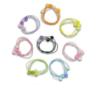 MINISTA MULTU GEM CHARM HAIR TIE(ASSORTED)