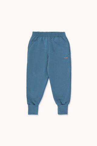 "TINYCOTTONS ""TINY"" SWEATPANT *sea blue/red*"