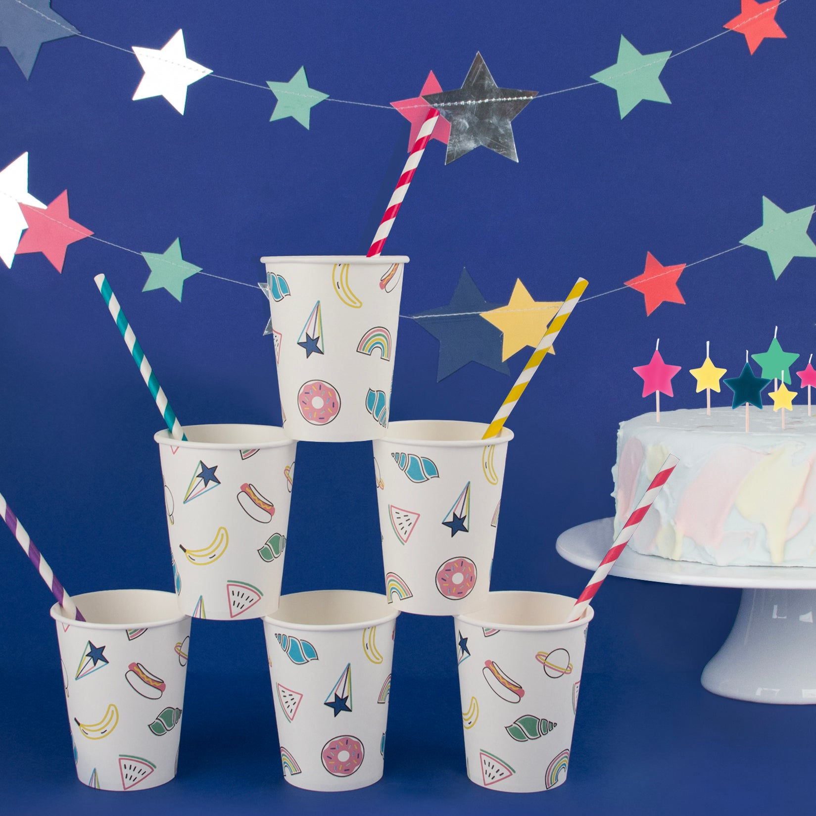 My Little Day paper cups - friends - 8 paper cups