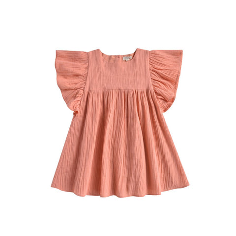 LOUISE MISHA Dress Almas Coral BABY AND KIDS