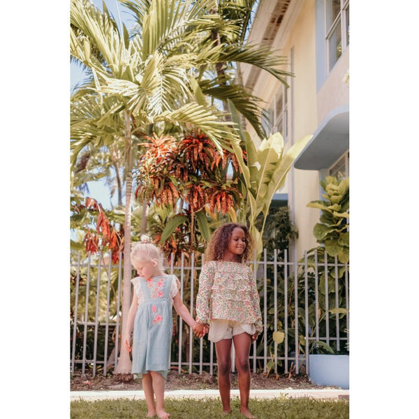 LOUISE MISHA Dress Oxaca Cloud BABY AND KIDS