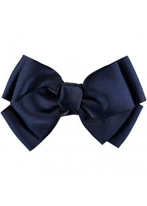Angel's Face Big Bow Navy
