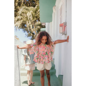 LOUISE MISHA Shorts Velinda Cream Baroque Lace BABY AND KIDS