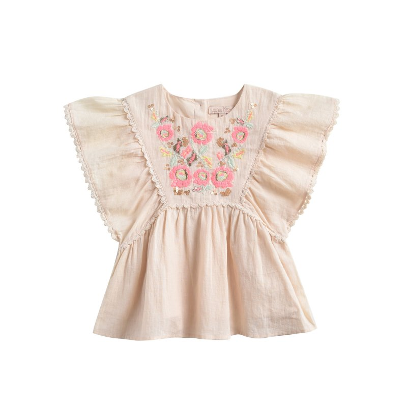LOUISE MISHA Top Magda Light Blush BABY AND KIDS