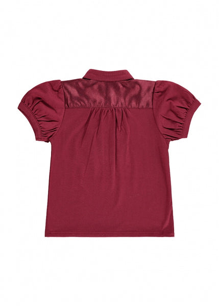 Angel's Face LIBBY TOP TIBETAN RED