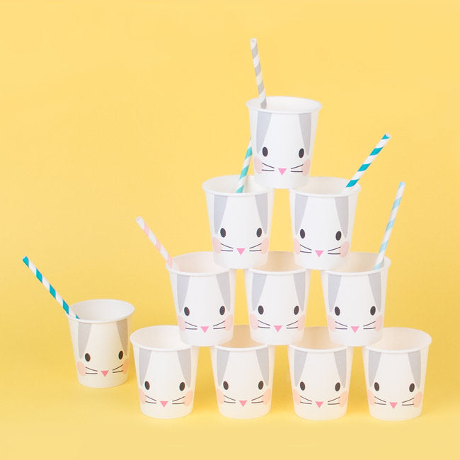 My Little Day paper cups - mini rabbit