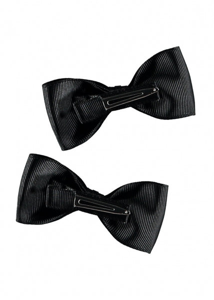 Twin Pack Bows Black