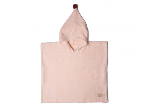 Nobodinoz So Cute poncho 55x58 3-5 y pink
