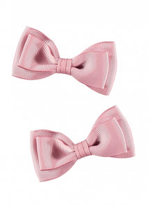 Twin Pack Bows Tea Rose