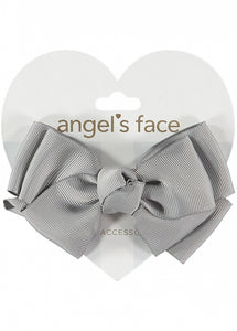 Angel's Face Big Bow Ash Grey