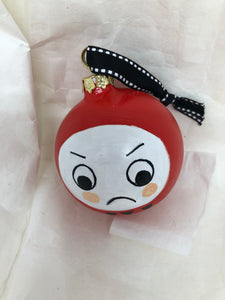 Daruma Doll Ornament