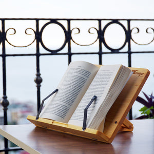 Book Stand as a wood gift for bookworms