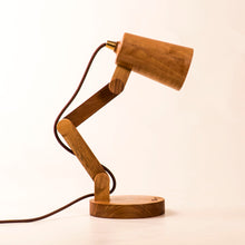 Load image into Gallery viewer, Gugar Acrobat - Wooden Desk Lamp