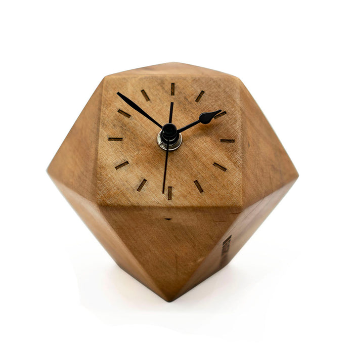 Handmade Decorative Wooden Clock For Table or Desk