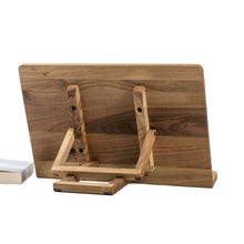 Load image into Gallery viewer, Moving part of Wooden Book Stand, Portable, Adjustable