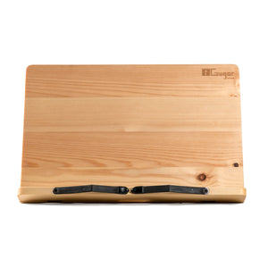 Wooden Tablet Pc Holder, Rustic technological wood tool for technolgy lover