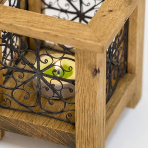 Wooden Tealight Holder by providing from Filigree Art