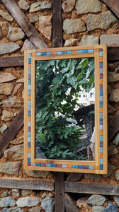 Decorative Wood Mirror for home and garden