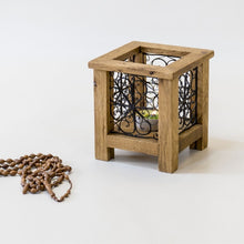 Load image into Gallery viewer, Wooden Tealight Candle Holder