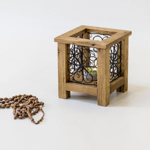 Wooden Tealight Candle Holder