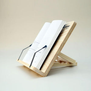 Wooden Book Stand made of Pine as a gift