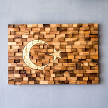 Load image into Gallery viewer, Decorative Turkish Flag