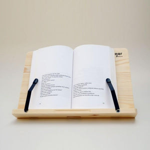 Wood Book Holder