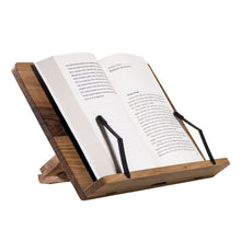 Load image into Gallery viewer, Wooden Book Stand for reading, writing, drawing and cooking