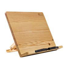 Load image into Gallery viewer, Wooden Ipad Stand