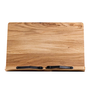 The stand for Tablets and Tablet PC. Wooden Tablet Pc Holder made of Oak