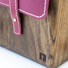 Load image into Gallery viewer, Handmade wooden purse for women