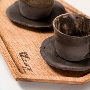 ceramics coffee cups set
